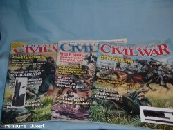 3 America's Civil War magazines