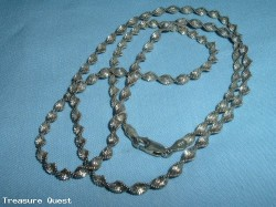 "24"" .925 Silver Necklace"