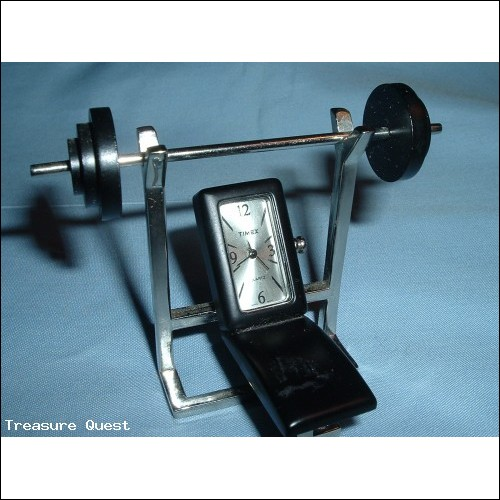 Timex Weight Bench Mini Clock